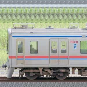 京成3700形(4次車)3798編成(山側)