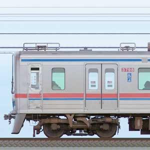京成3700形(4次車)3798編成(海側)