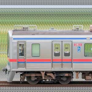 京成3700形(5次車)3818編成(山側)