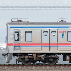 京成3700形(5次車)3818編成(海側)