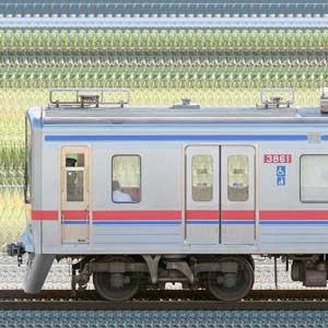京成3700形(9次車)3868編成(山側)