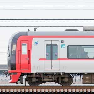 名鉄2200系2201編成+3150系3168編成(山側)