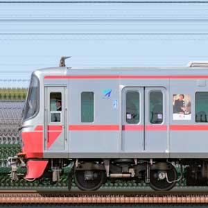 名鉄3150系3151編成(山側)