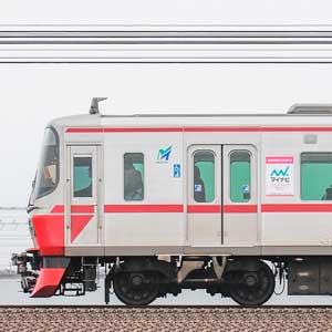 名鉄3150系3168編成+2200系2201編成(海側)