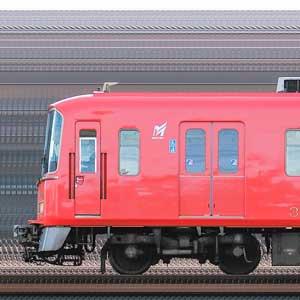 名鉄3700系3701編成(海側)
