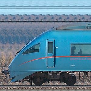 小田急60000形ロマンスカー「MSE」60051×4+60251×6(山側)