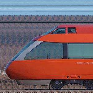 小田急70000形ロマンスカー「GSE」70051×7(山側)