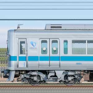 小田急1000形1051×4+クヤ31「テクノインスペクター」(山側)