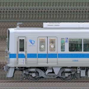 小田急1000形1094×10(リニューアル車・山側)