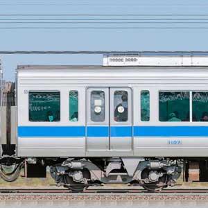 小田急1000形デハ1107(リニューアル車)