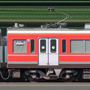 小田急1000形デハ1110(レーティッシュ鉄道色)