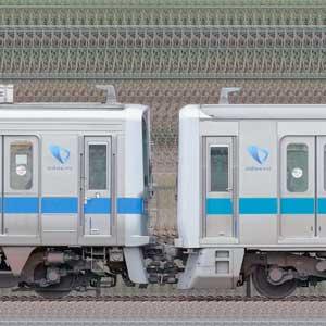 小田急1000形1057×4+3000形3263×6(山側)