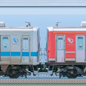 小田急1000形1059×4+1254×6(海側)