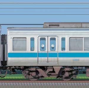 小田急1000形デハ1304