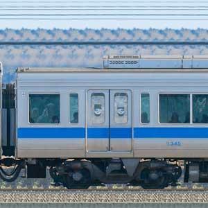 小田急1000形デハ1345(リニューアル車)