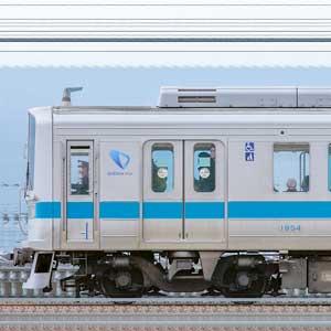 小田急1000形1754×6(海側)