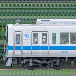 小田急2000形2053×8(山側)