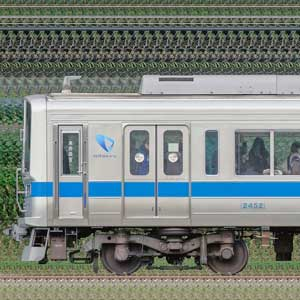 小田急2000形2052×8(海側)