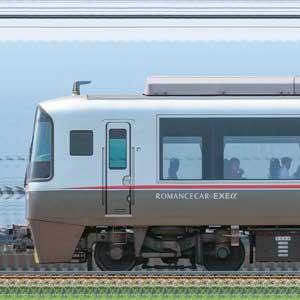 小田急30000形ロマンスカー「EXEα」30052×4(海側)