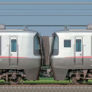 小田急30000形ロマンスカー「EXEα」30054×4+30254×6(山側)