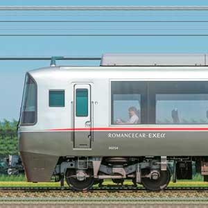小田急30000形ロマンスカー「EXEα」30254×6(山側)