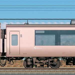 小田急30000形ロマンスカー「EXE」サハ30354