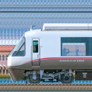 小田急30000形ロマンスカー「EXEα」30252×6(海側)