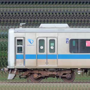 小田急8000形8055×4+3000形3256×6(海側)