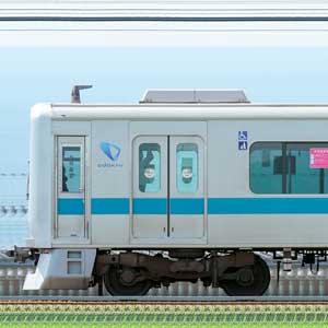 小田急3000形3091×10(海側)