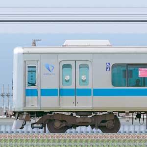 小田急3000形(2次車)3255×6(海側)