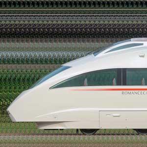 小田急50000形ロマンスカー「VSE」50002×10(海側)