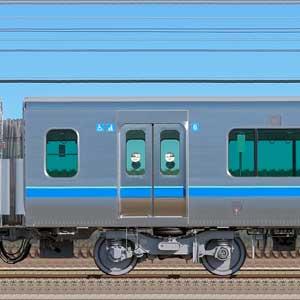 小田急5000形サハ5251