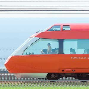 小田急70000形ロマンスカー「GSE」70052×7(海側)