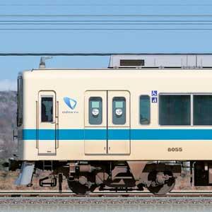 小田急8000形8055×4+3000形3251×6(山側)