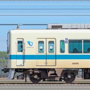 小田急8000形8065×4+8265×6(山側)