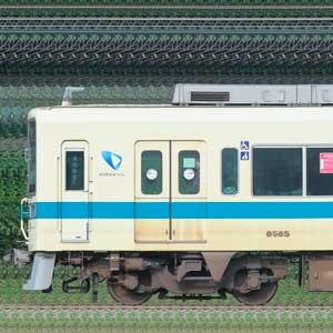 小田急8000形8065×4+8265×6(海側)