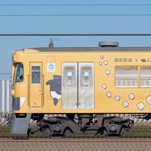 西武2000系2007編成「LAIMOラッピング電車」(2位側)