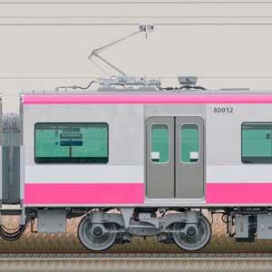 新京成80000形モハ80012