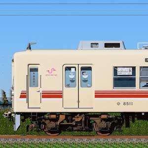 新京成8000形8512編成(マルーン・山側)