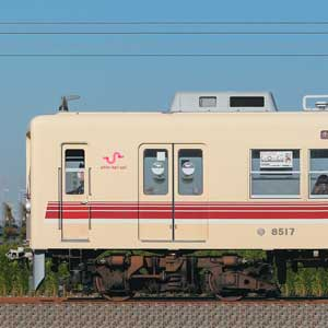 新京成8000形8518編成(マルーン・山側)