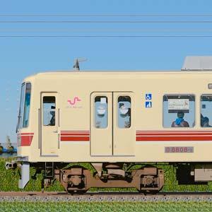 新京成8800形8808編成(京成千葉線直通カラー・山側)
