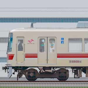 新京成8800形クハ8808-6(京成千葉線直通カラー)