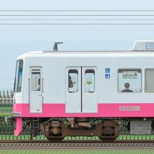 新京成8800形8810編成(機器更新・内装リニューアル車/山側)