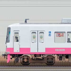 新京成8800形クハ8810-6(床下機器更新・内装リニューアル車)