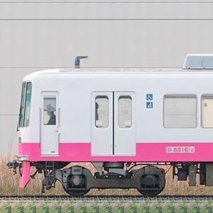 新京成8800形クハ8816-6(床下機器更新・内装リニューアル後)