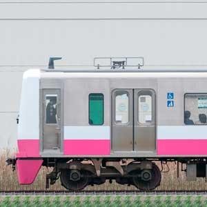 新京成N800形N838編成(ジェントルピンク・海側)