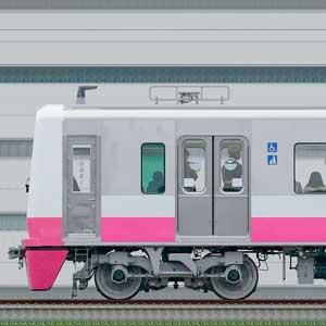 新京成N800形N848編成(海側)