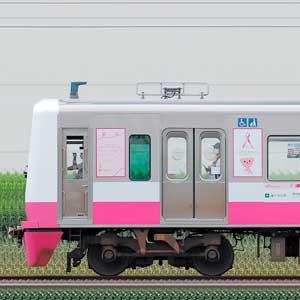 新京成N800形N848編成「新京成ピンクリボントレイン」(海側)