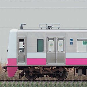 新京成N800形N818編成(ジェントルピンク・海側)