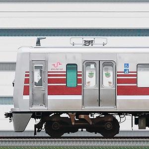 新京成N800形N818編成(マルーン・海側)